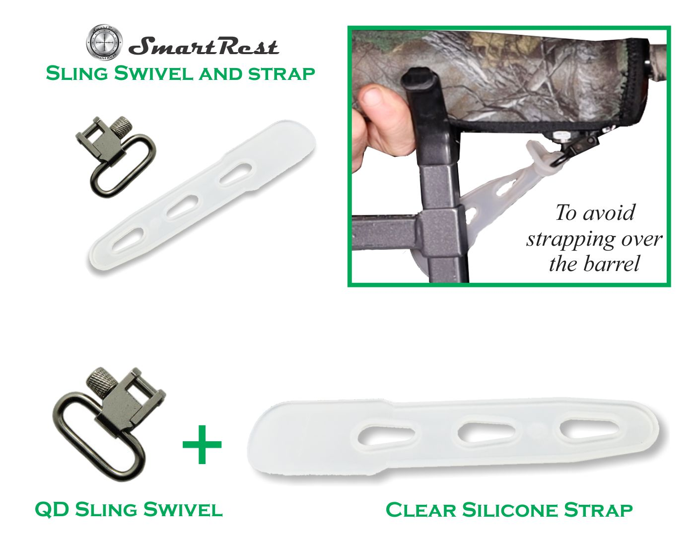 SmartRest Swivel and Strap