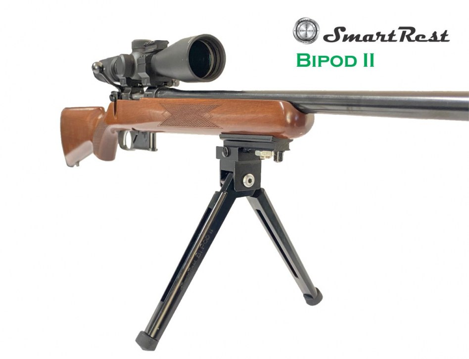 Bipod II Web on rifle