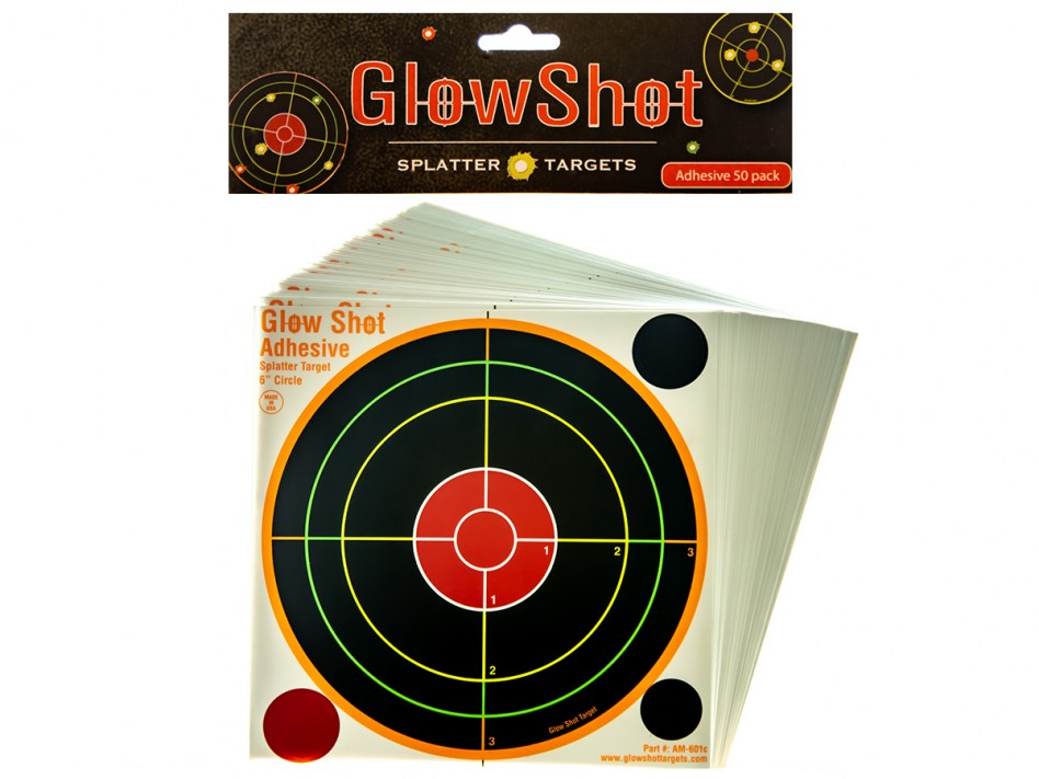 Glow Shot 6 inch 50 pack