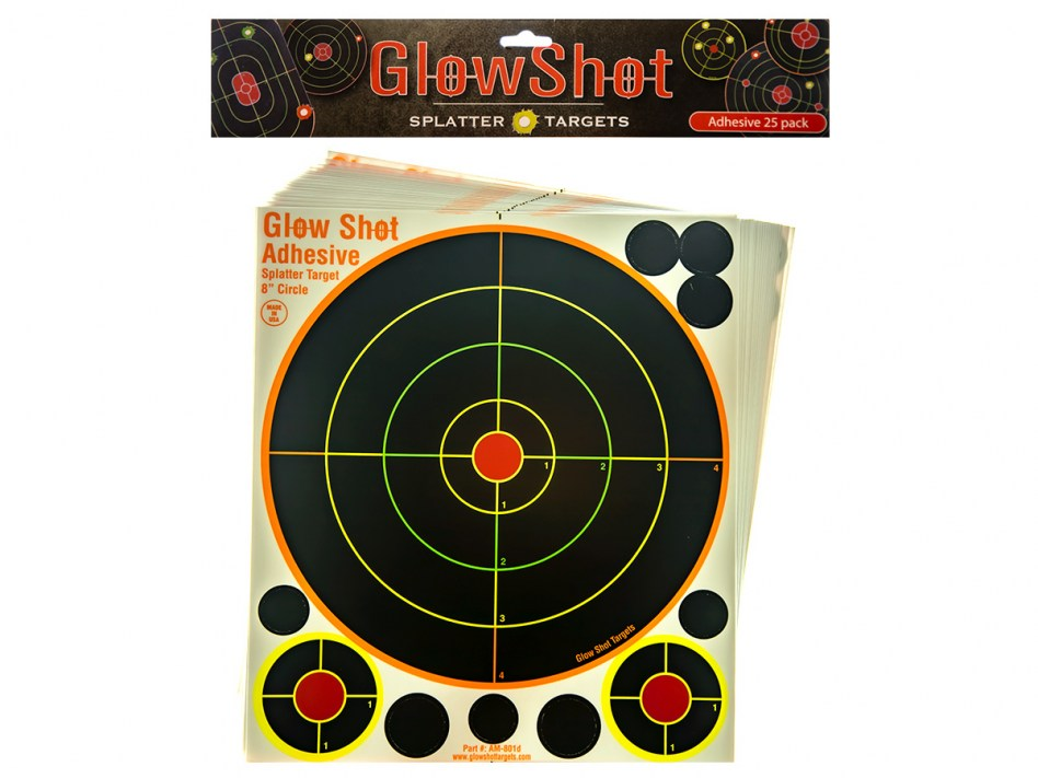 Glow Shot 8 inch 25pack
