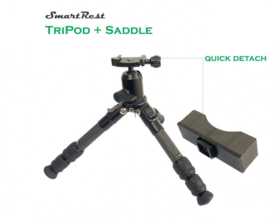 Tripod and saddle detached44